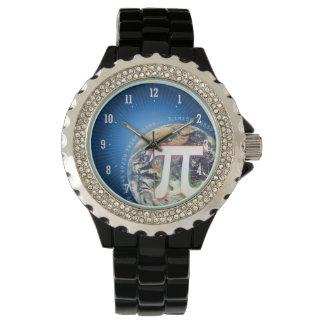 PU-Zahl auf Aussenseiter-Uhr der Erde| Armbanduhr