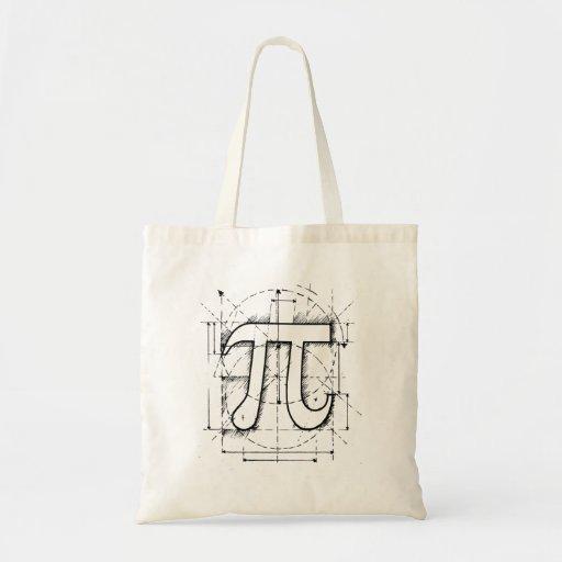 PU-Zahl-Zeichnen Tasche