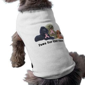 Pudel-Brustkrebs-Haustier-Kleidung Top