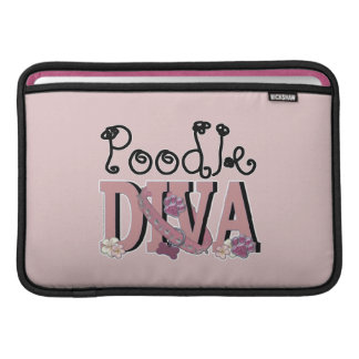 Pudel DIVA Sleeve Fürs MacBook Air