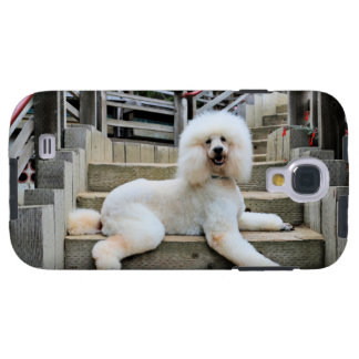 Pudel - gebrannt - Trainer Galaxy S4 Hülle