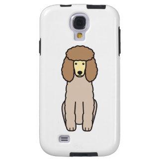 Pudel-HundeCartoon Galaxy S4 Hülle