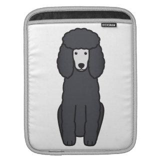 Pudel-HundeCartoon Sleeve Für iPads