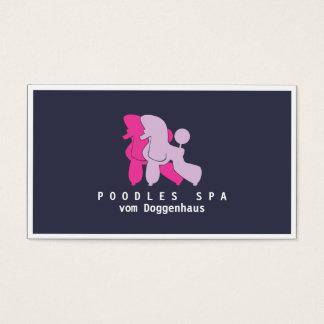 Pudel-Karten Visitenkarte