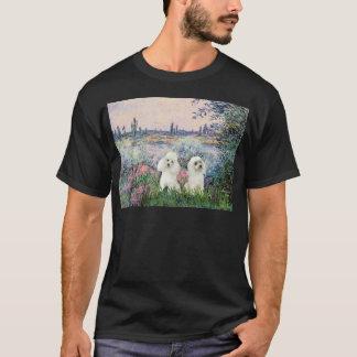 Pudel-Paare (W) - durch die Seine T-Shirt