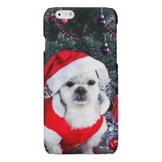 Pudel Sankt - Weihnachtshund - Weihnachtsmann-Hund