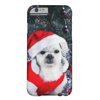 Pudel Sankt - Weihnachtshund - Weihnachtsmann-Hund Barely There iPhone 6 Hülle