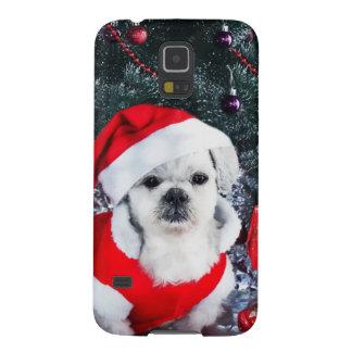 Pudel Sankt - Weihnachtshund - Weihnachtsmann-Hund Hülle Fürs Galaxy S5