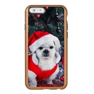 Pudel Sankt - Weihnachtshund - Weihnachtsmann-Hund Incipio Feather® Shine iPhone 6 Hülle