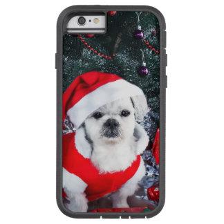 Pudel Sankt - Weihnachtshund - Weihnachtsmann-Hund Tough Xtreme iPhone 6 Hülle