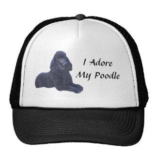 Pudel-schwarzer Hut, den ich verehre Kult Cap