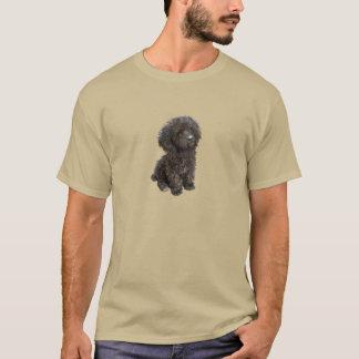 Pudel - schwarzer Spielzeugwelpe T-Shirt