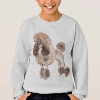 Pudel -- Zeigen Sie Mantel Sweatshirt