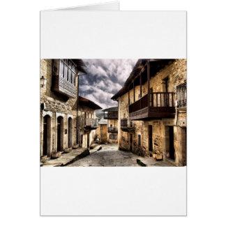 Puebla de Sanabria Karte