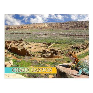 Pueblo-Blaufisch, Chaco Schlucht, New Mexiko Postkarte