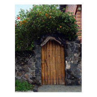 Puerto Ayora Tür, Galapagos-Inseln Postkarte