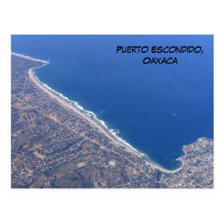 Puerto Escondido, Oaxaca Postkarte