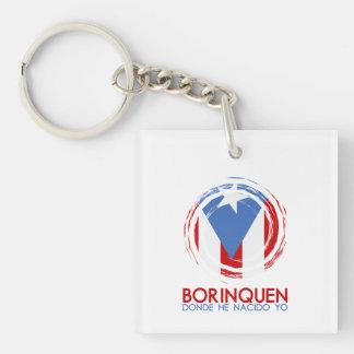 Puerto Rico Borinquen Schlüsselanhänger