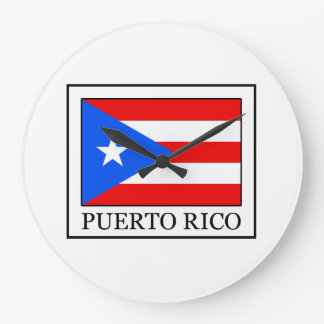 Puerto Rico Große Wanduhr