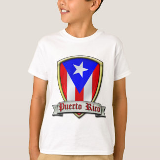 Puerto Rico - Shield2 T-Shirt