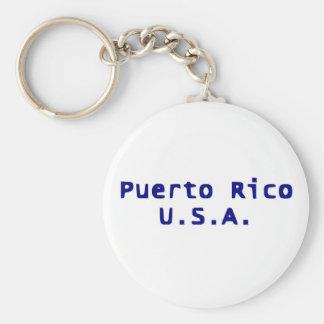 Puerto Rico USA Keychain Schlüsselanhänger