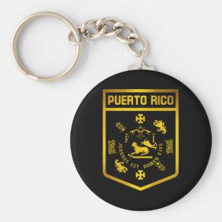 Puerto- Ricoemblem Schlüsselanhänger