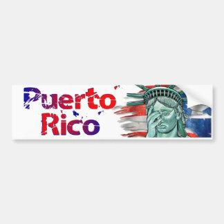 Puerto- Ricoentlastung. Schande auf Ihnen Trumpf! Autoaufkleber