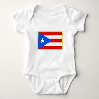 Puerto- Ricoflagge Baby Strampler