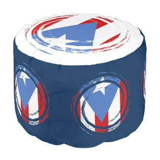 Puerto- Ricoflagge Hocker