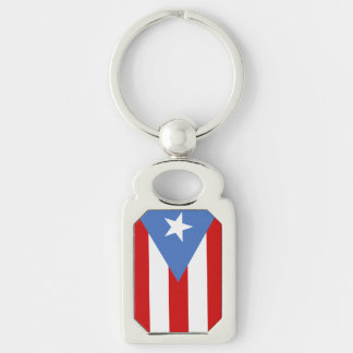 Puerto- Ricoflagge Schlüsselanhänger