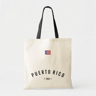 Puerto- Ricoflagge Tragetasche