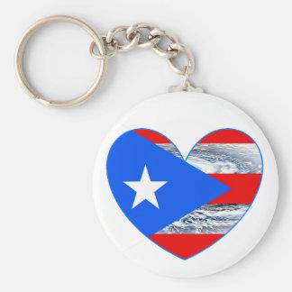 Puerto- Ricoflaggen-Hurrikan Maria Keychain 2017 Schlüsselanhänger