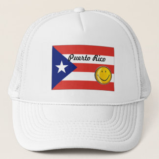 Puerto- Ricoflaggen-Hut Truckerkappe