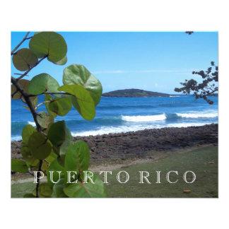 Puerto- RicoMeerblick 11,4 X 14,2 Cm Flyer
