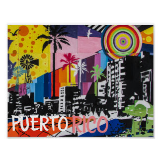 Puerto- Ricoplakat Poster