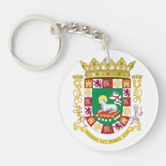 Puerto- RicoStaats-Siegel Schlüsselanhänger