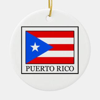 Puerto- Ricoverzierung Keramik Ornament