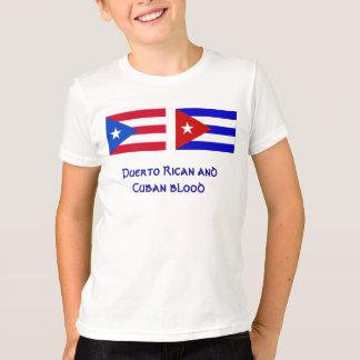 PuertoRico_flag, Cuba_flag, Puertorikaner und Cu… T-Shirt