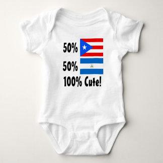 Puertorikaner 100% 50% Nicaraguaner-50% niedlich Baby Strampler