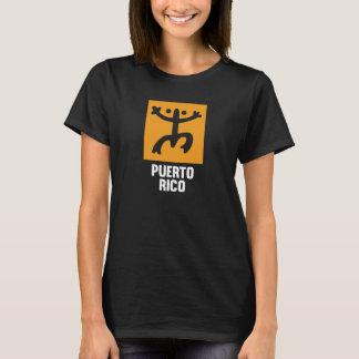 Puertorikaner Taino Coquí Symbol Schwarz-T - Shirt