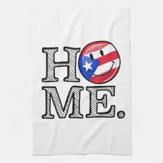 Puertorikanischer Flaggen-Haus-Wärmer Küchentuch