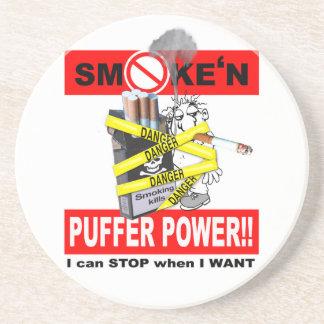 PUFFER POWER_1 SANDSTEIN UNTERSETZER