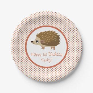 Puffin-Felsen-Party-Platte - stachelig Pappteller