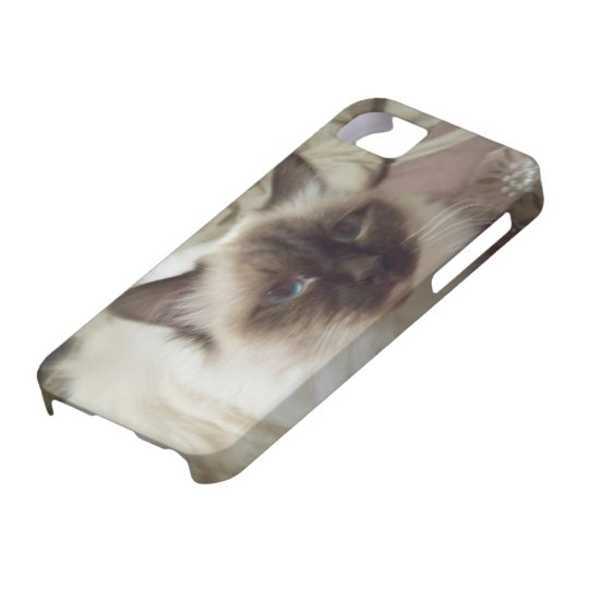 Puffo the cat I-Phone case iPhone 5 Etuis