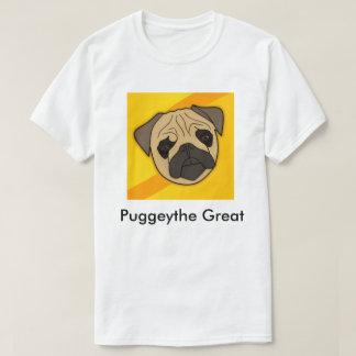 Puggeythe großer Mops-Shirt-Männer T-Shirt