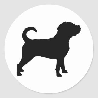 Puggle HundeSilhouette