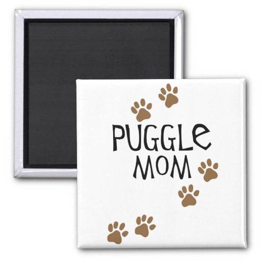 Puggle Mamma Kühlschrankmagnete