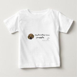 puggle - mehr züchtet baby t-shirt