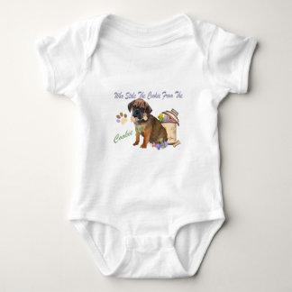 Puggle Stola-Plätzchen vom Plätzchen-Glaskleid Baby Strampler