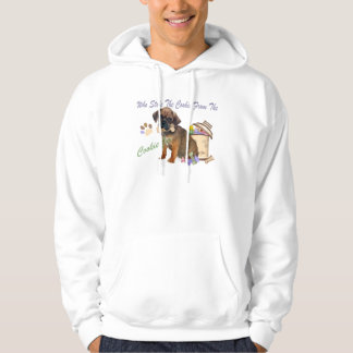 Puggle Stola-Plätzchen vom Plätzchen-Glaskleid Hoodie